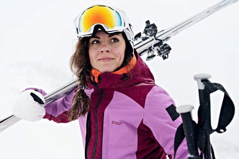 Outdoor lifestyle model in Åre