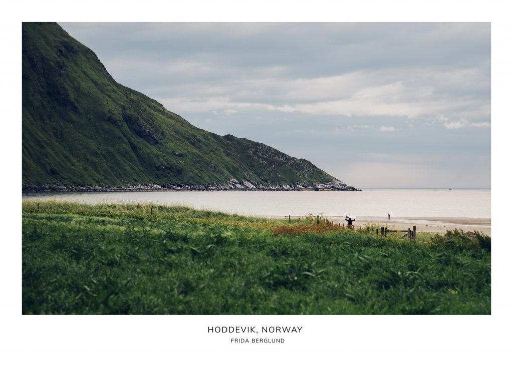 Surfers in Norway