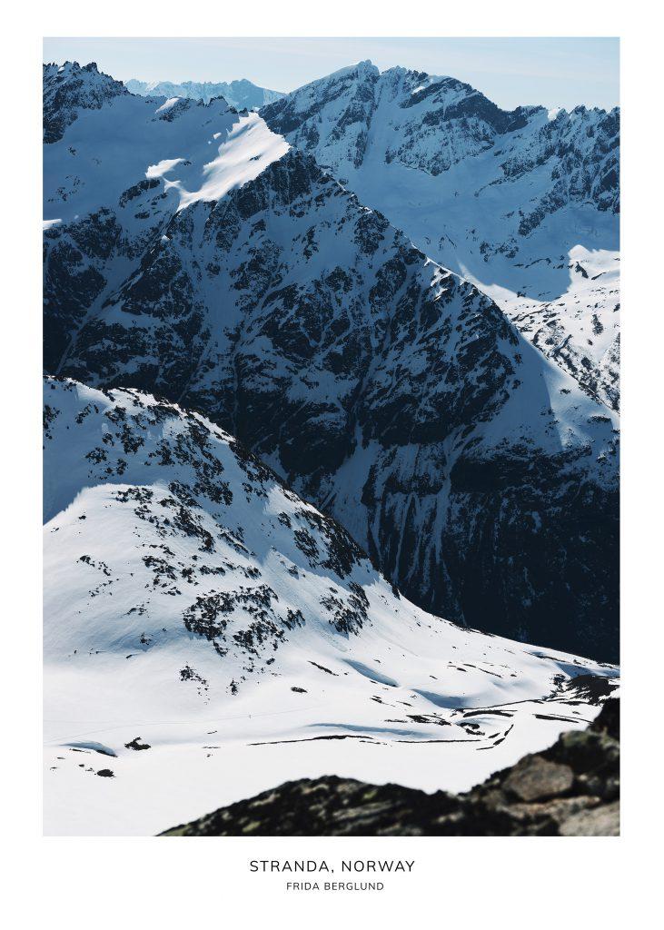 Mountains in Stranda Norway